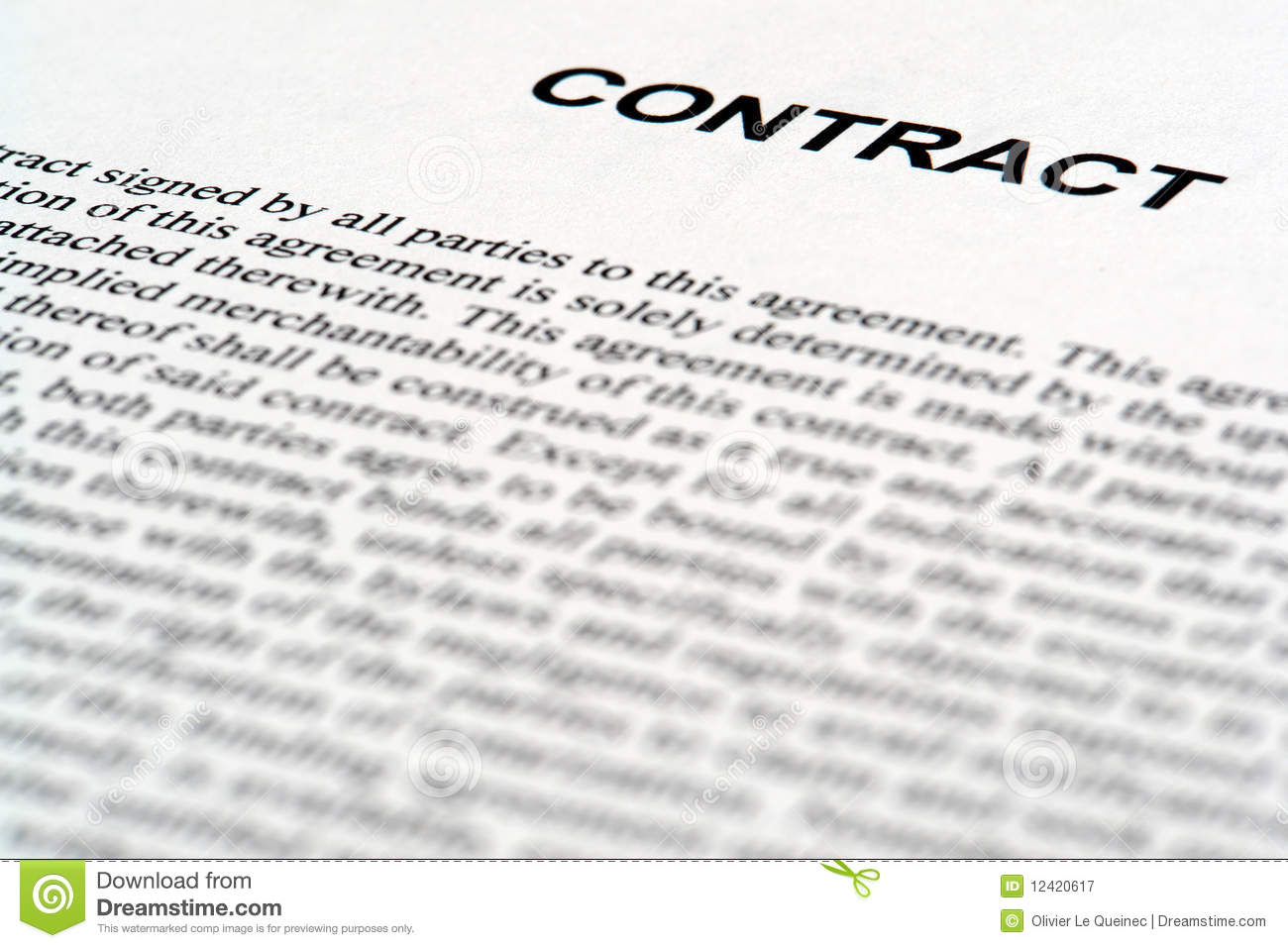 English Contract Law – PARTS I and II